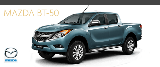 The Super Tough MAZDA BT 50