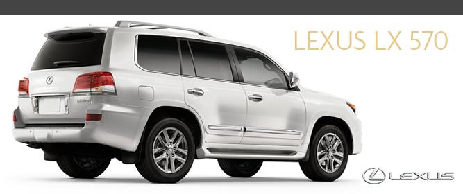 Lexus LX-570 Luxury SUV