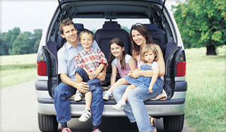This family car is a minivan