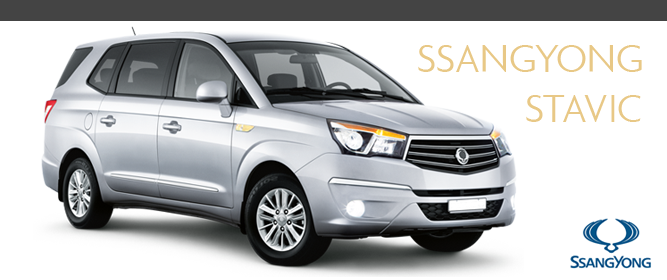 Ssangyong Stavic with 7 or 9 Seats