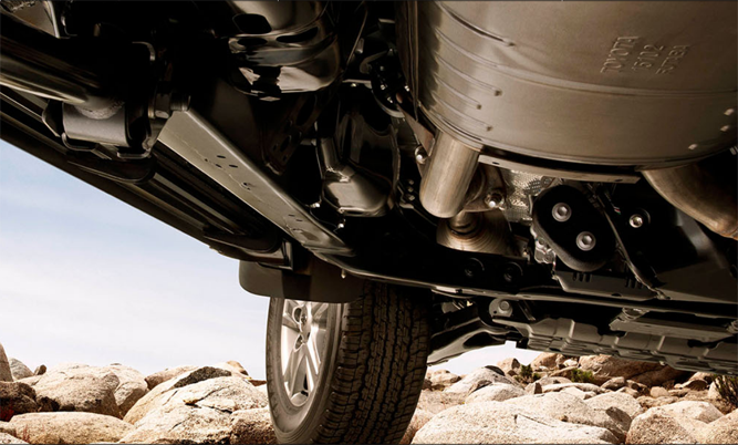 Landcruiser fron suspension