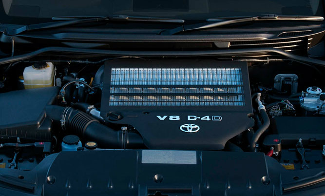 Landcruiser 22 series twin turbo V8 Engine