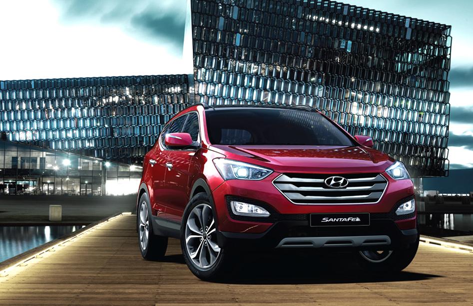 Hyundai Santa Fe Seven Seater