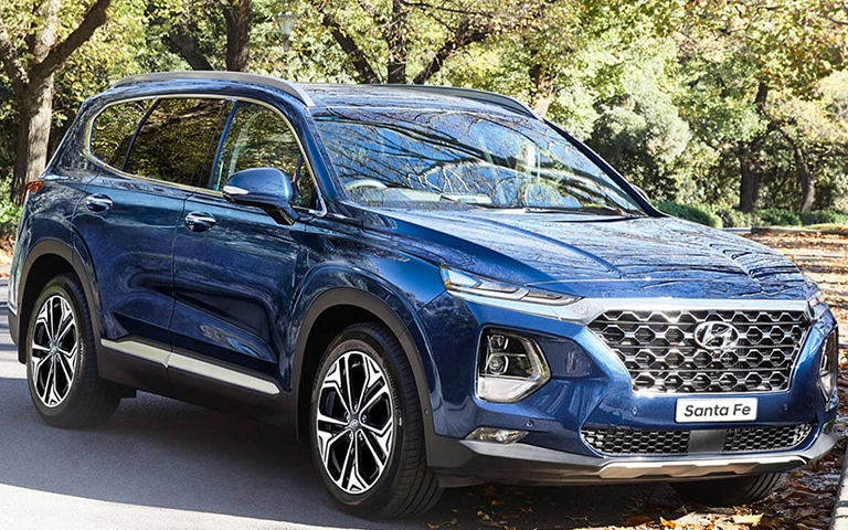 Hyundai Santa Fe looks so good
