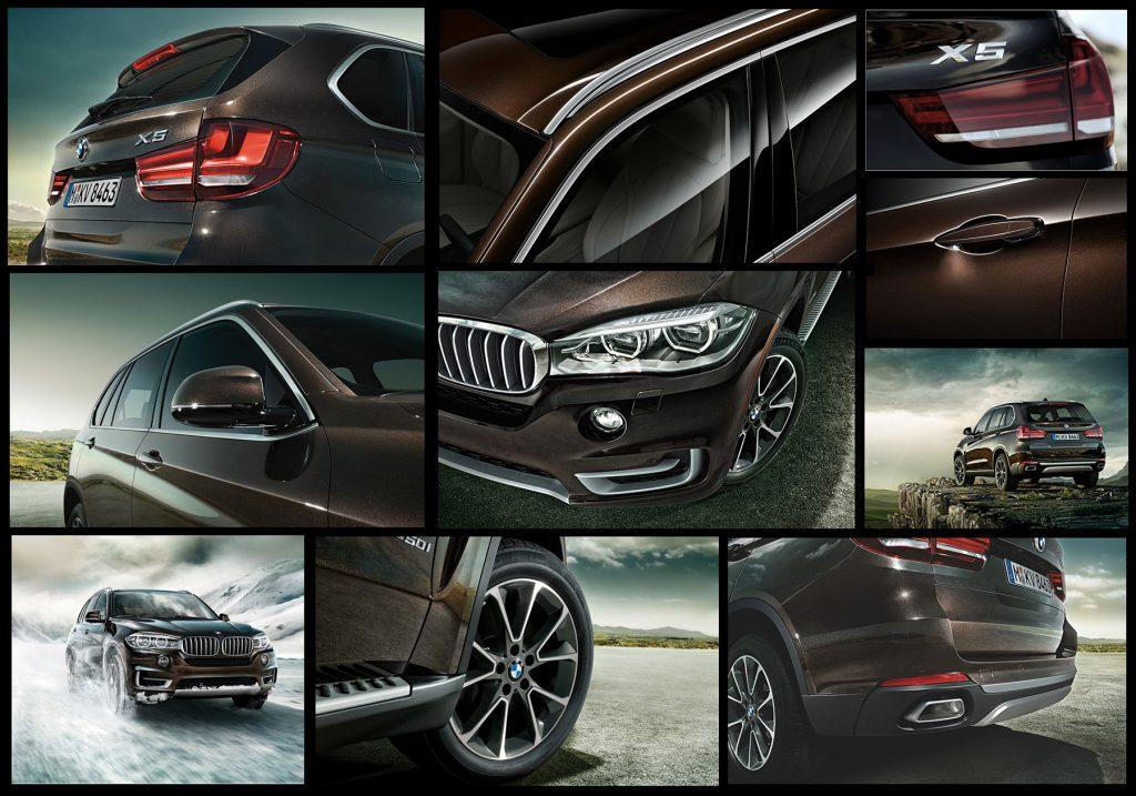 BMW X5 Exterior design features