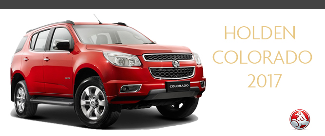 Holden Colorado 7 Seater Australian SUV