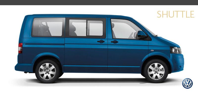 Volkswagen Transporter Shuttle People Mover