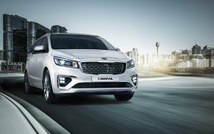 The Kia Carnival is a top people mover