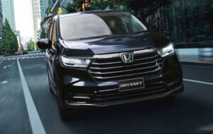 Honda Odyssey great for both family and the city life.