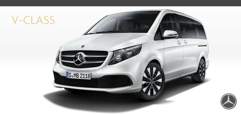 The Mercedes-Benz V-Class is All Class