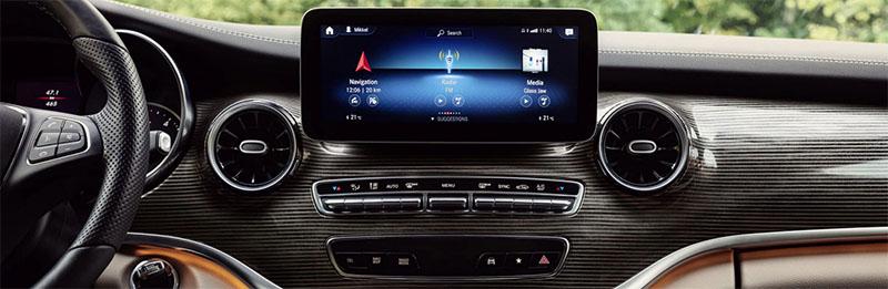 Mercedes-Benz V-Class technology